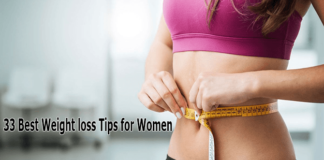 best weight Loss tips for women