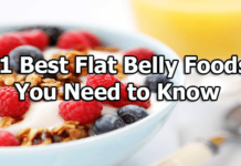best flat belly foods