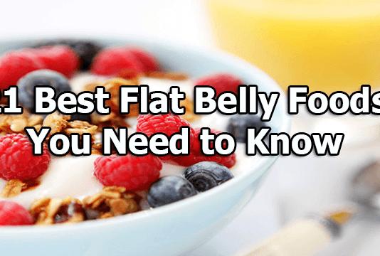 best flat belly foods